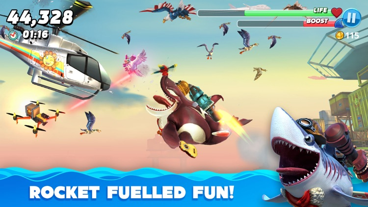 Hungry Shark World screenshot-3