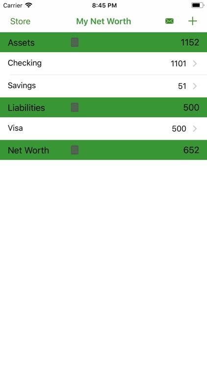 My Net Worth Cloud