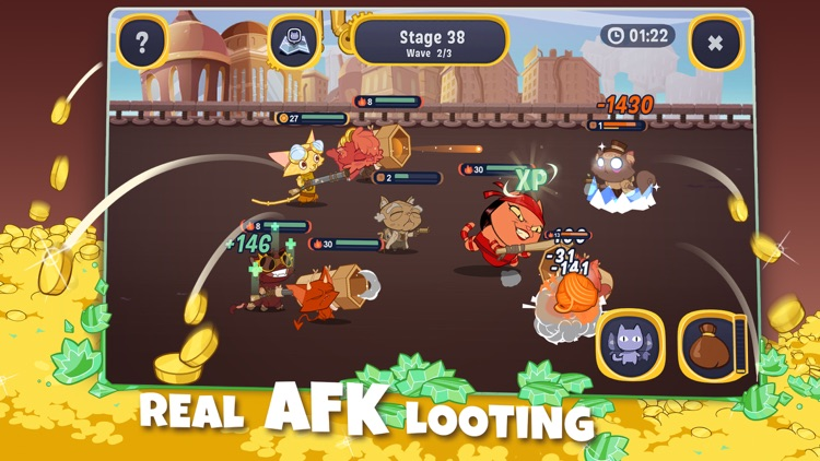 AFK Cats: Idle Arena