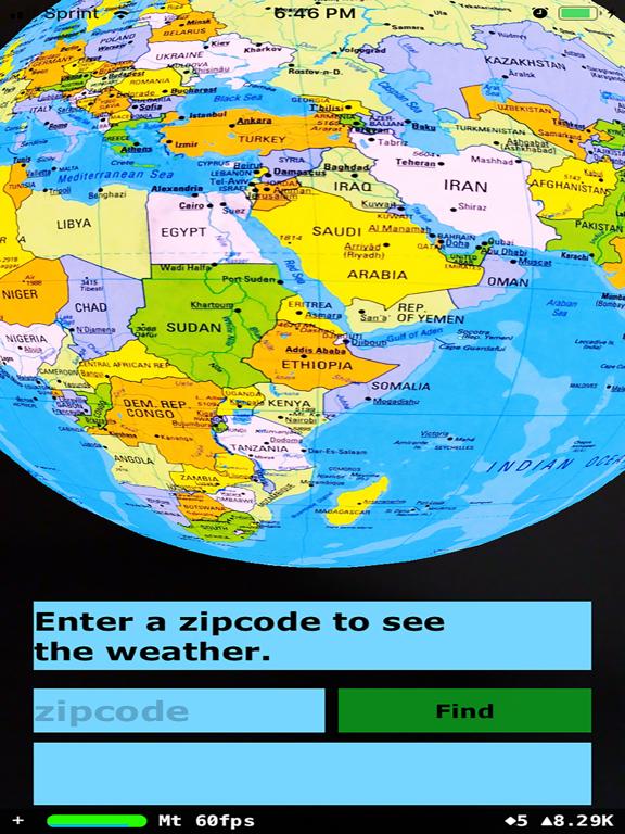 Rotating Globe screenshot 8