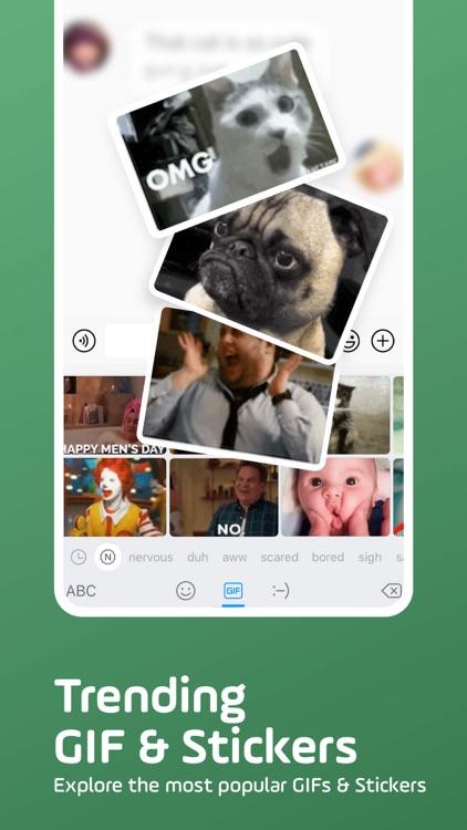 Facemoji Keyboard: Emoji&Fonts screenshot-8