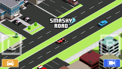 Screenshot from Smashy Road: Wanted