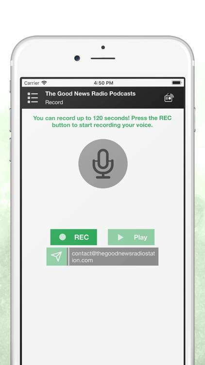 The Good News Radio Podcasts screenshot-3