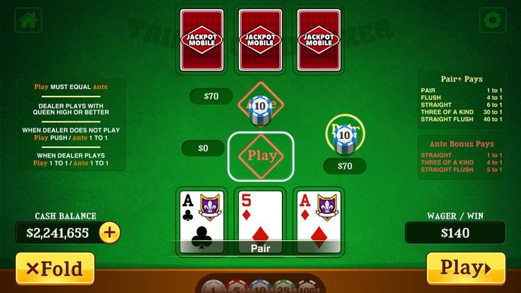 Triple Card Poker Casino screenshot-3