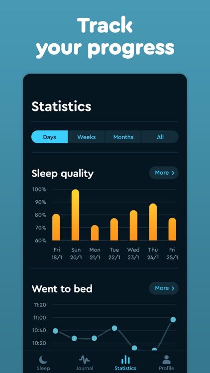 Sleep Cycle: smart alarm clock screenshot-6