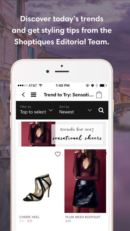 Shoptiques. Shop local stores. screenshot-3