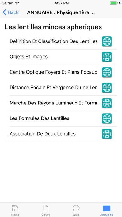 Physique Première ES screenshot 7