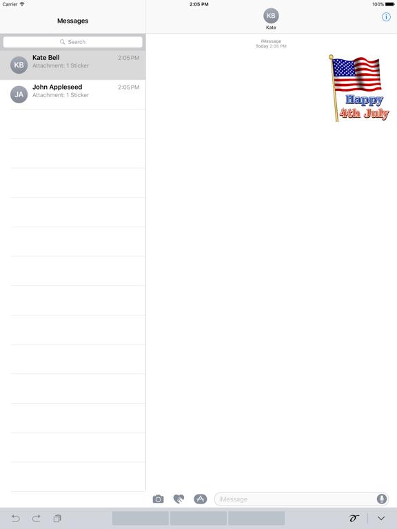 Happy Independence Day Sticker screenshot 4
