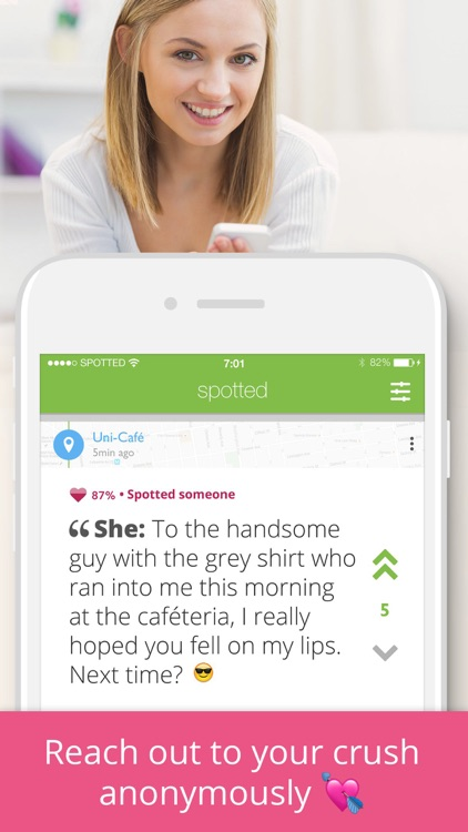 Spotted - meet, chat, date screenshot-3
