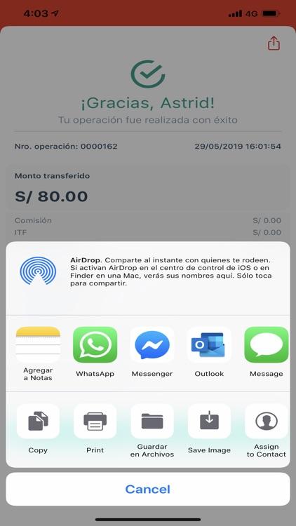Banco de la Nación-banca móvil screenshot-5
