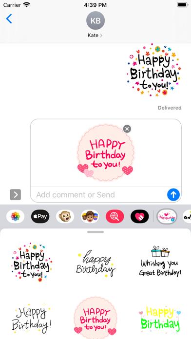Happy birthday to you ver1 screenshot 2