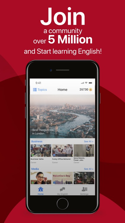 EnglishCentral - Learn English screenshot-5