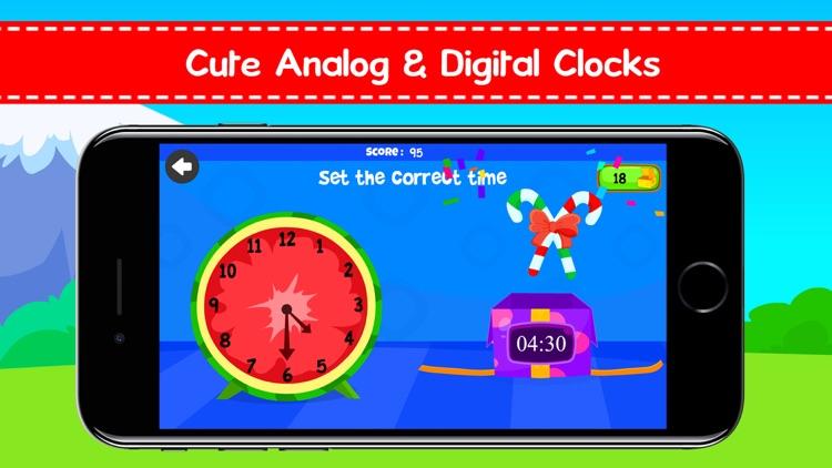Telling Time Games For Kids screenshot-3