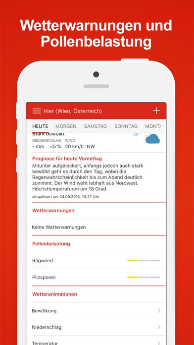 Wiener Städtische Wetter Plus screenshot three