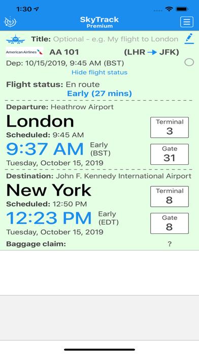 SkyTrack Flight tracker aware-4
