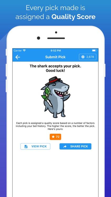 Shark Pick - Sports Picks