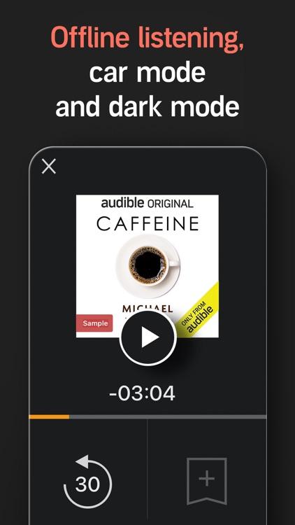 Audible audio books & stories screenshot-5