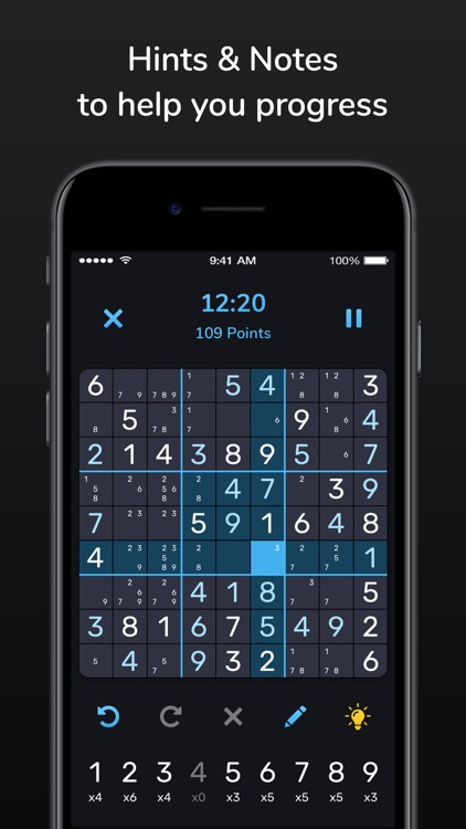 Sudoku Extreme - Number Puzzle screenshot-1