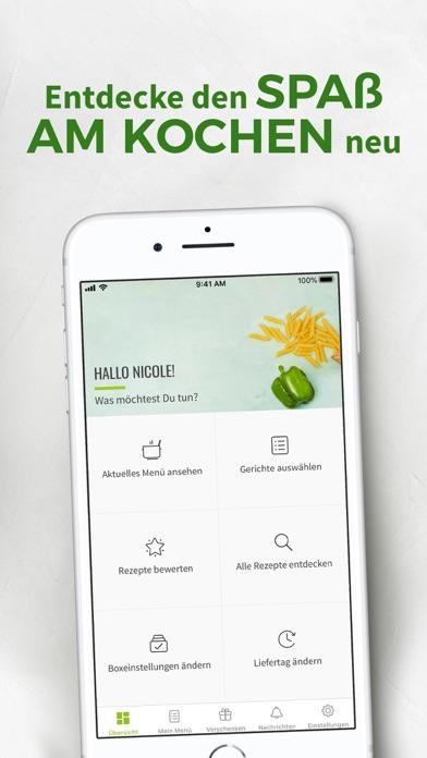 Screenshot for HelloFresh in Germany App Store