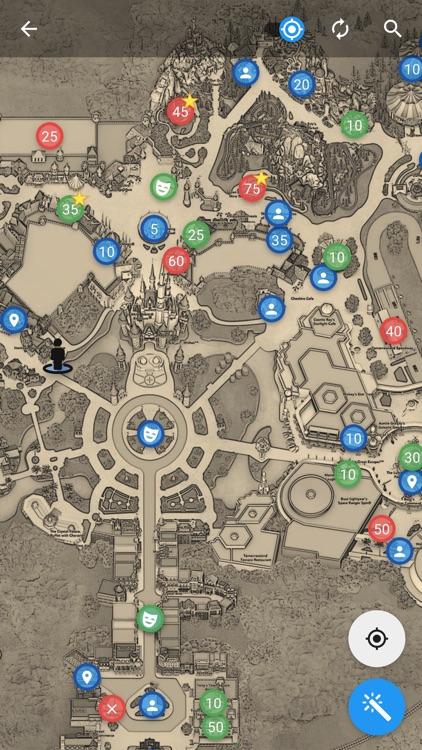 Merlin's Map for Disney World screenshot-4