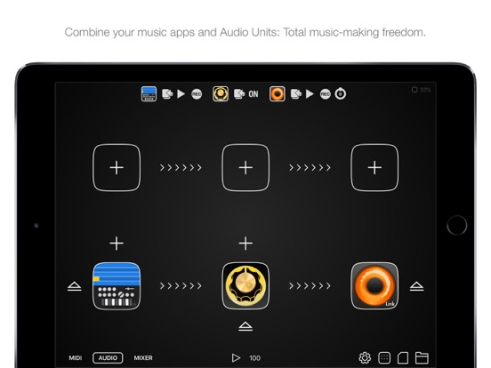 Audiobus 3 Screenshots