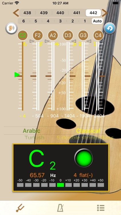 Oud Tuner - Tuner for Oud