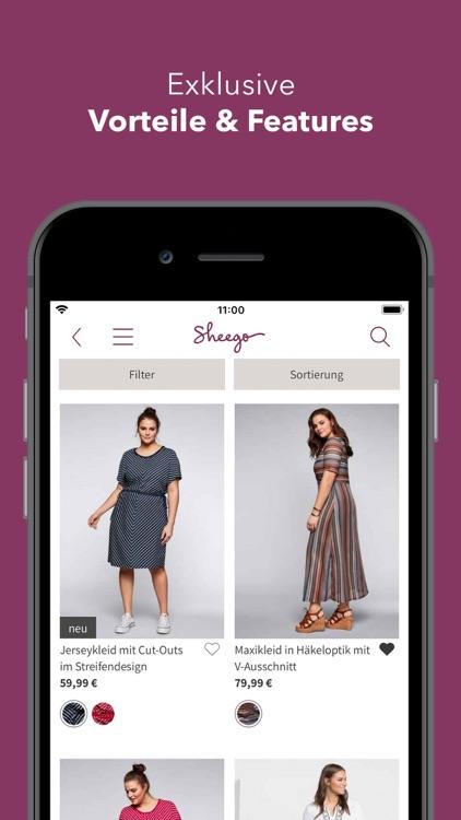 sheego - Mode in großen Größen screenshot-3