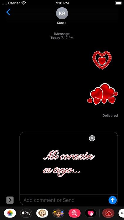 Te Amo Stickers screenshot-9