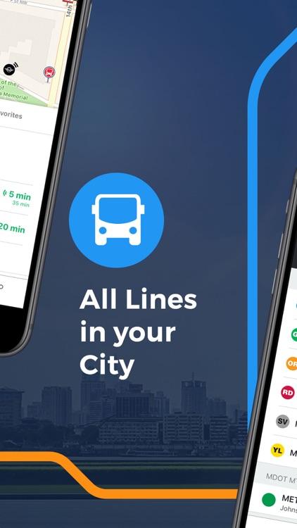 Moovit: Train & Bus Times screenshot-3