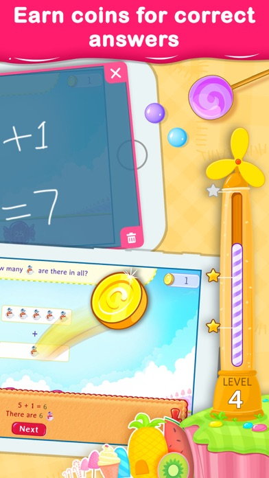 1st Grade Math Learning Games Screenshot