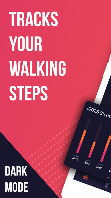 Step Tracker with Activity Map screenshot one