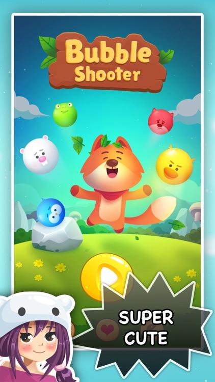 Bubble Shooter - Pop Pet Saga screenshot-4