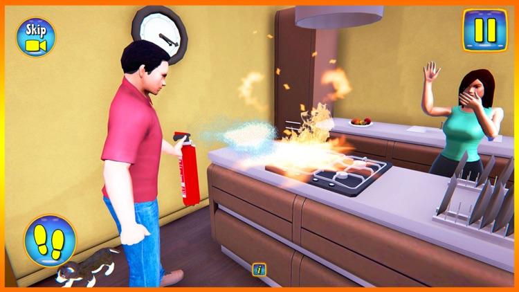 Happy Virtual Family Simulator screenshot-5
