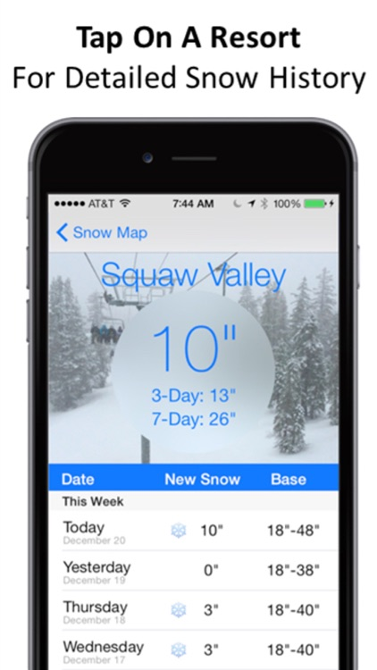 Tahoe Snow Map & Webcams