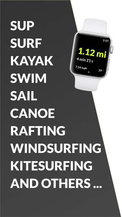 Watersports Tracker - Surfing