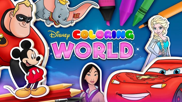 Disney Coloring World screenshot-0