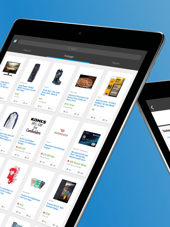 Slickdeals - Deals, Discounts, and Coupons App for Shopping screenshot