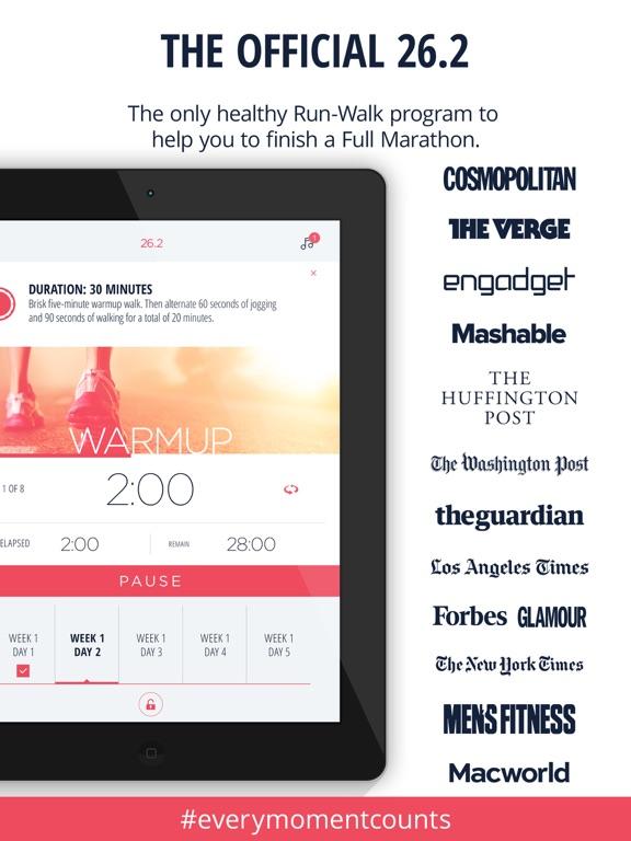Marathon Trainer Pro - Run for PINK screenshot