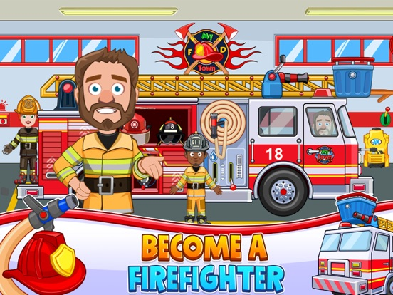 My Town : Fire station Rescueのおすすめ画像3
