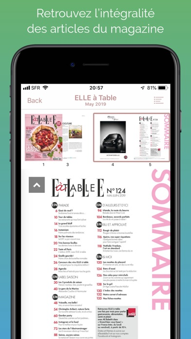 Elle Table Mag review screenshots