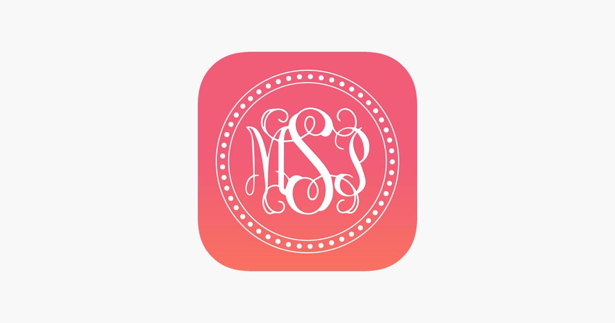 Monogram It 4+. Mobogram Wallpaper Maker Fonts