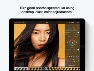 Pixelmator Photoのスクリーンショット