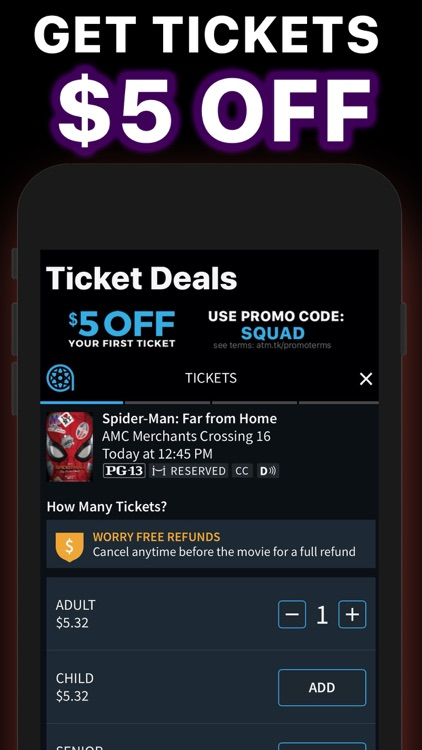 Movie Deals: Cheap Movies App
