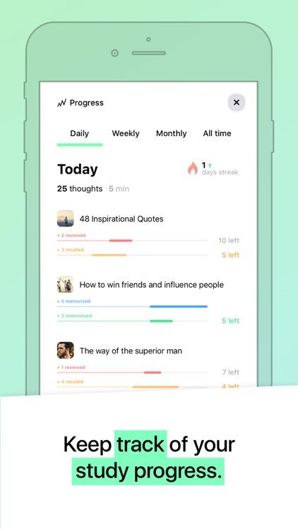 MindZip Repetition Study Coach screenshot-8