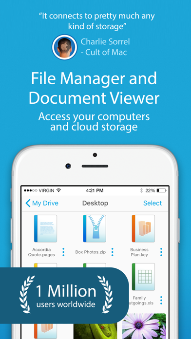 Screenshot for FileBrowser - Document Manager in United Kingdom App Store