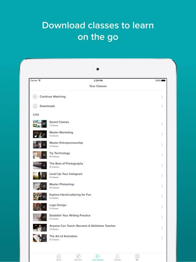 Skillshare - Online Learning on the App Store