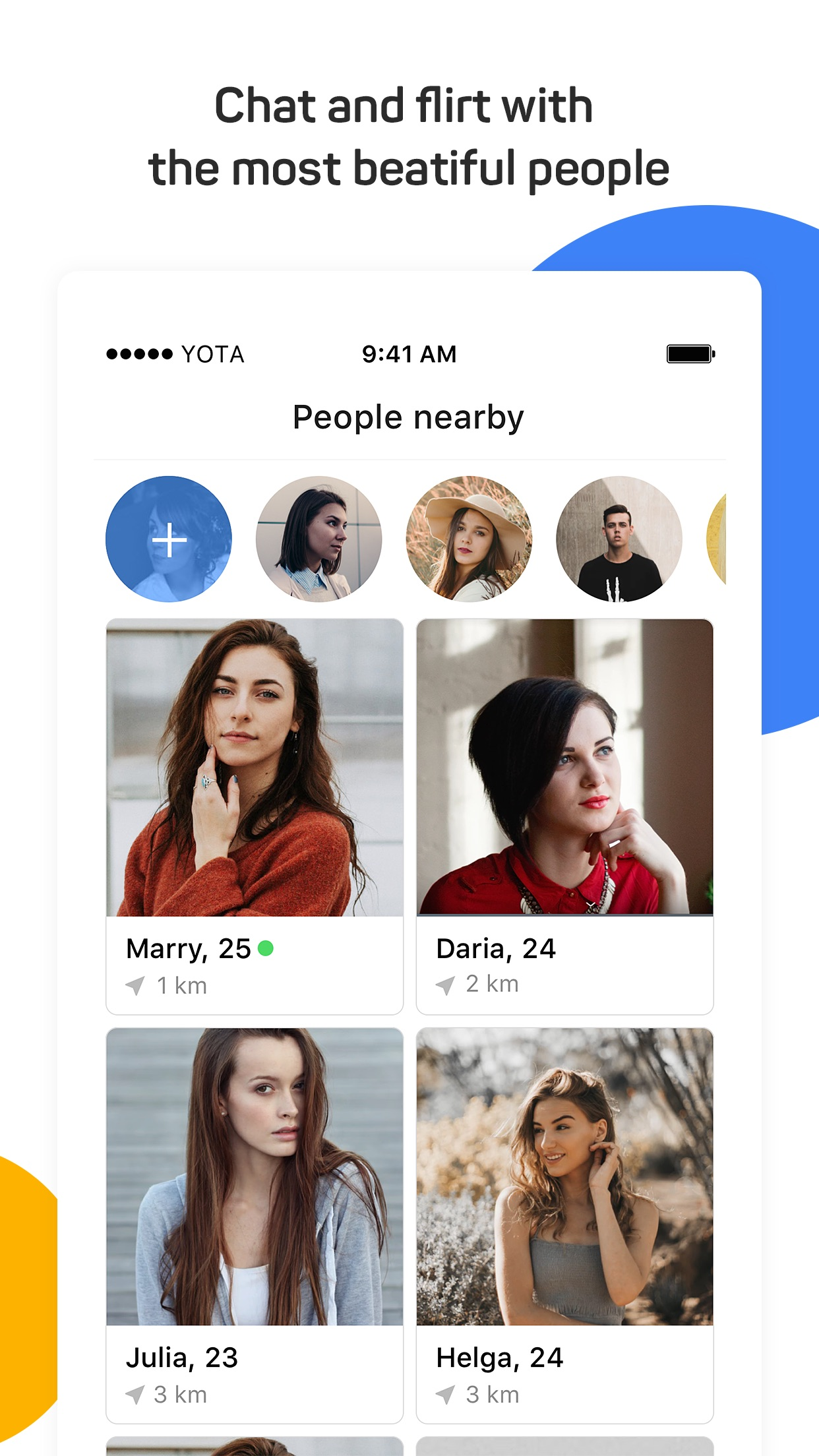 Topface: dating app and chat Screenshot