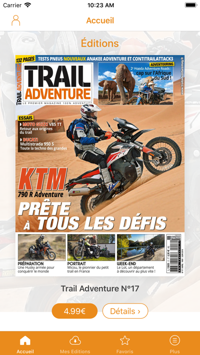 Trail Adventure Magazine Screenshot