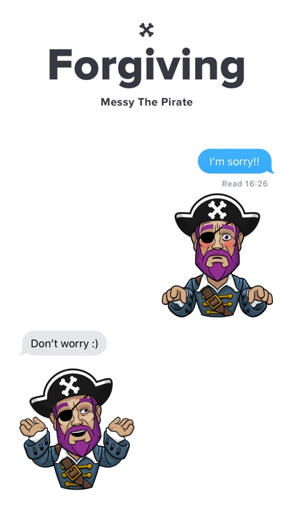 Messy The Pirate