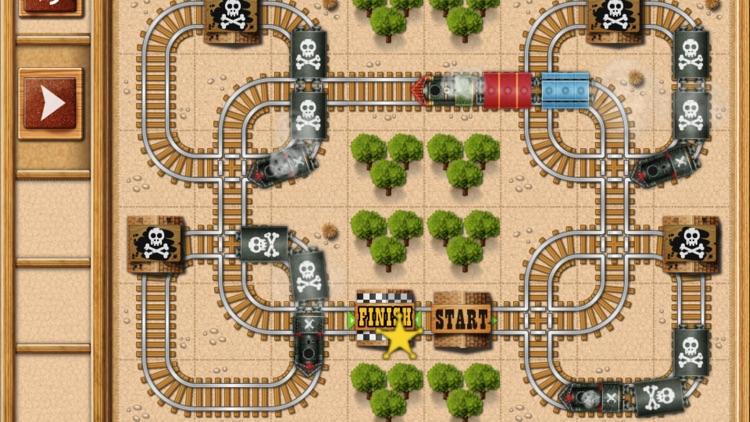 Rail Maze : Train Puzzler screenshot-3
